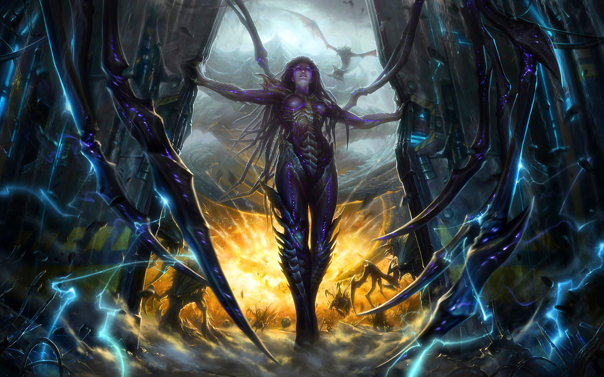 Starcraft Art - HD Desktop Wallpapers