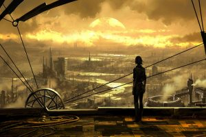 steampunk background images