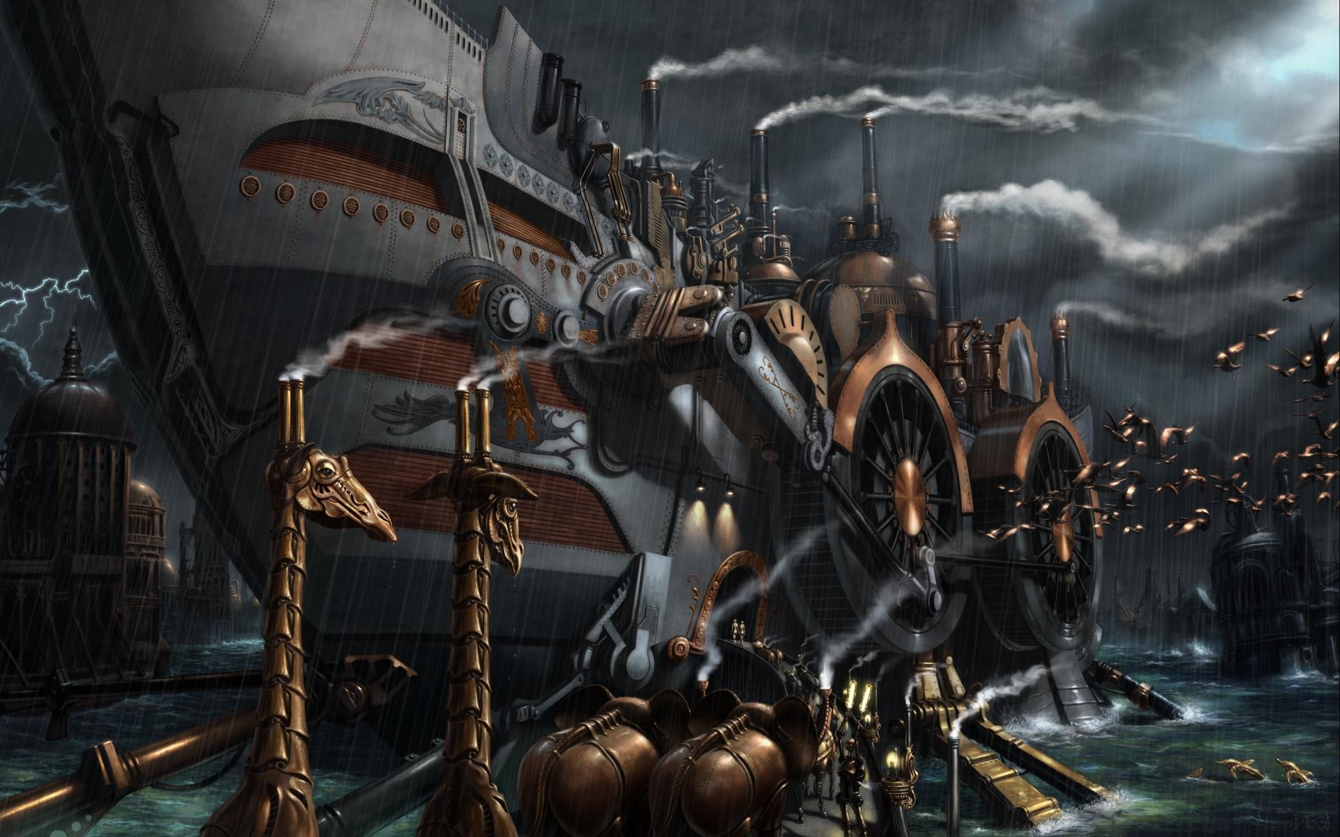 steampunk desktop