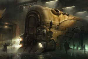 steampunk wallpaper 1600x900