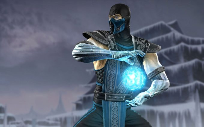 sub zero mortal kombat backgrounds