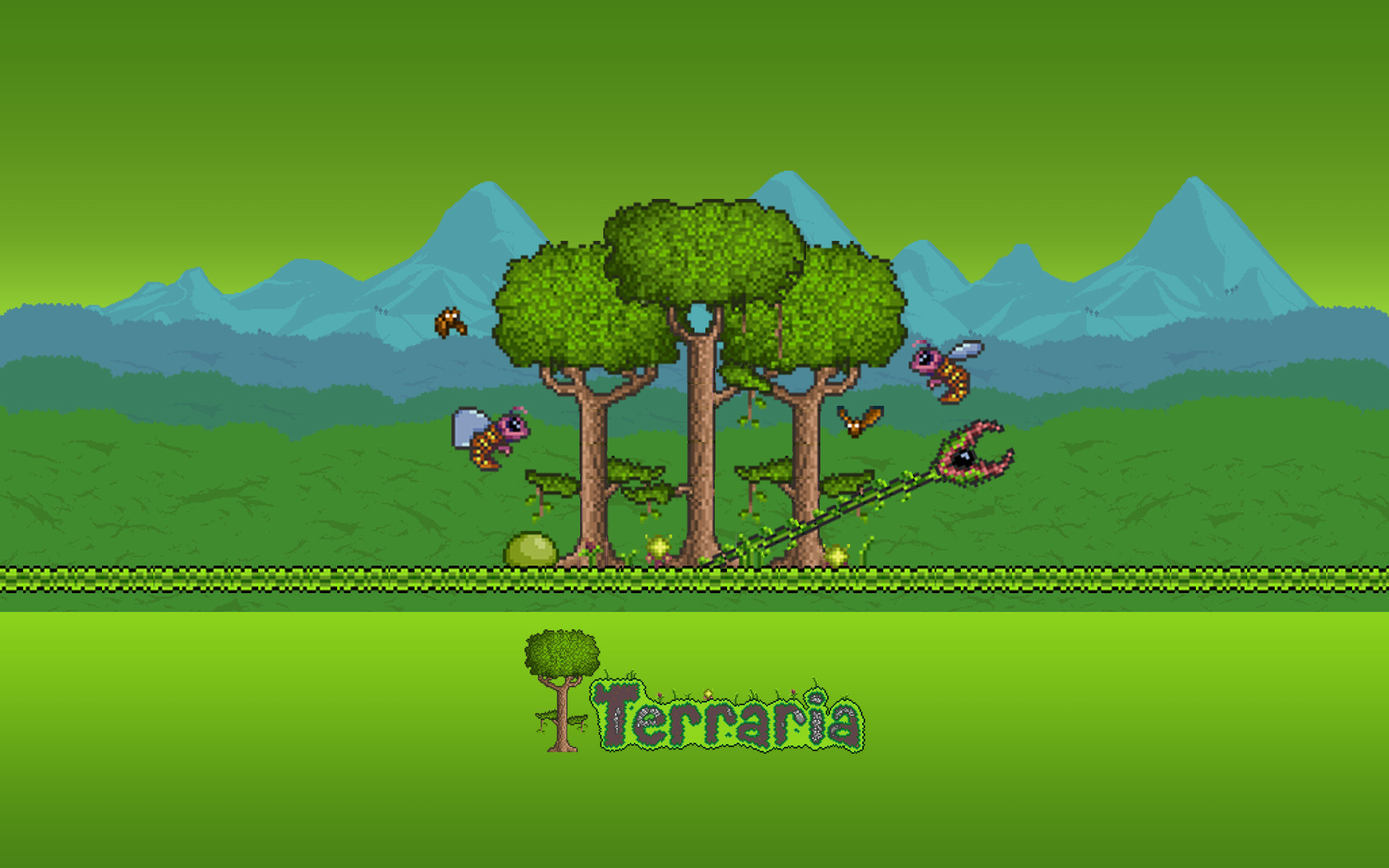 terraria wallpaper A1