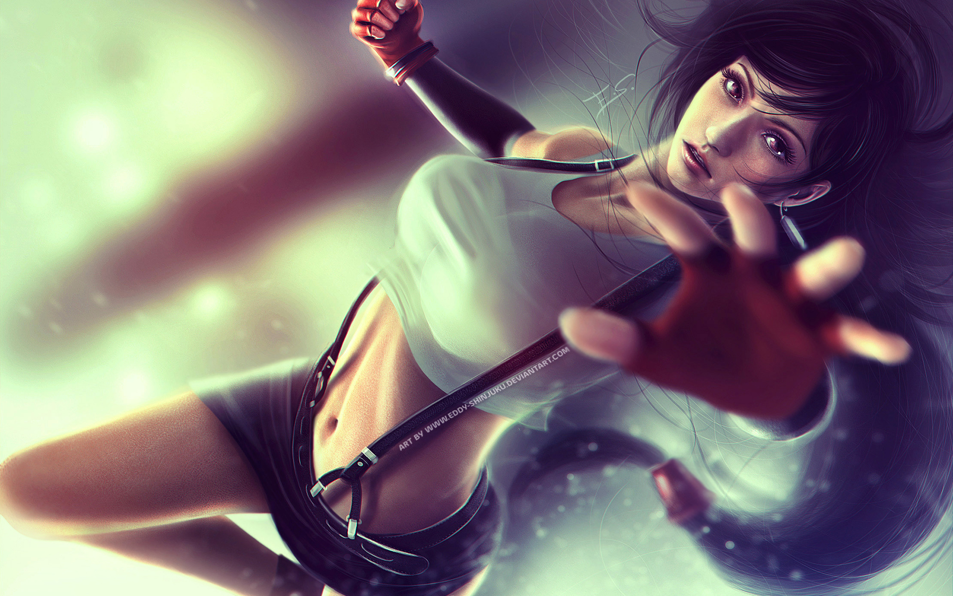 tifa lockhart fan art