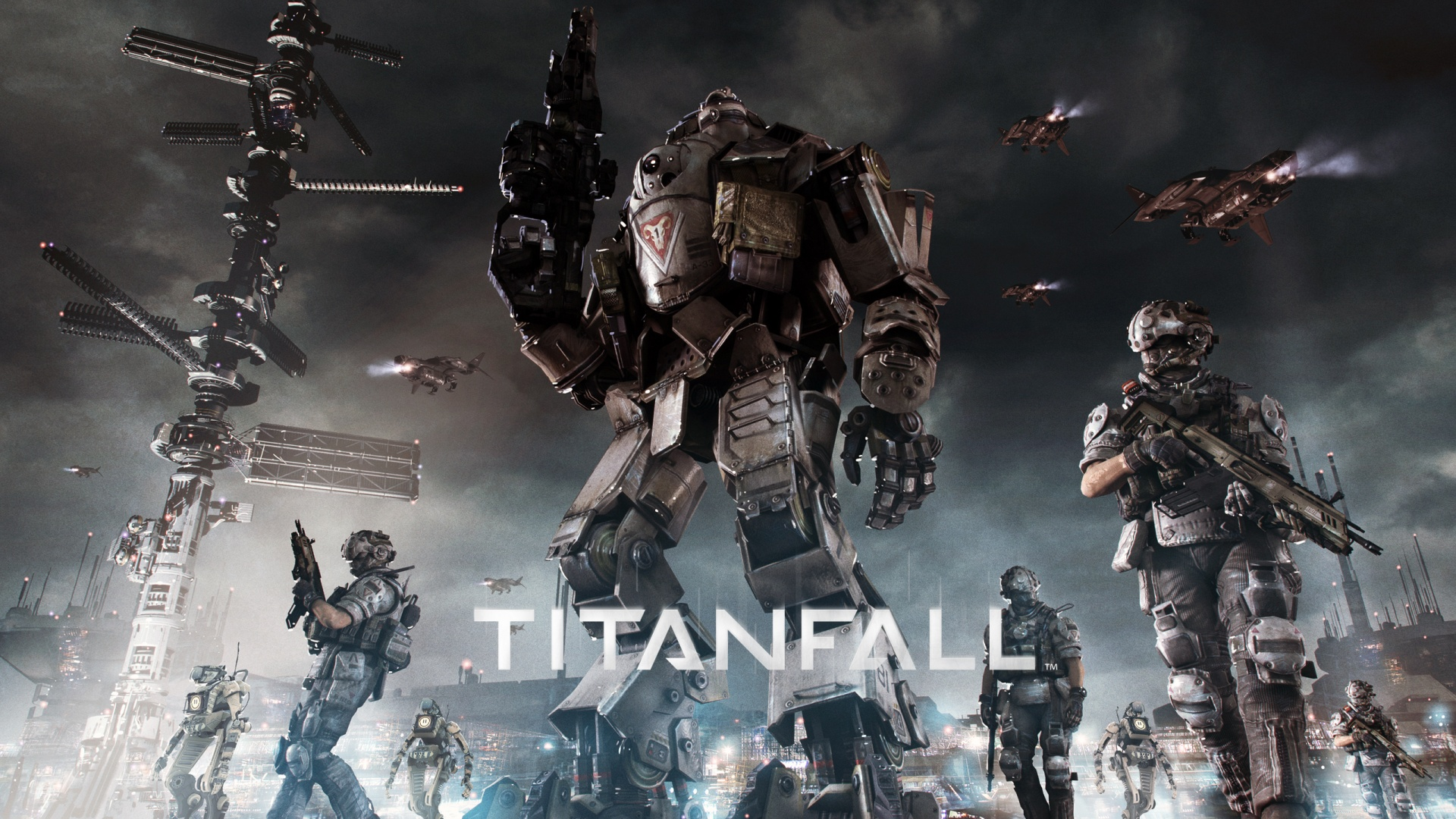 titanfall backgrounds
