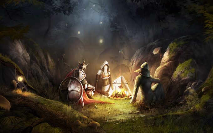 Best wallpaper database with campfire, wallpaper, trine, beautiful, story