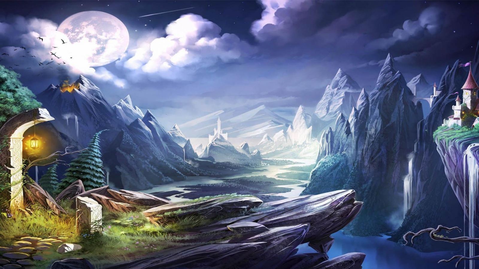Trine 2 Backgrounds A4 - HD Desktop Wallpapers