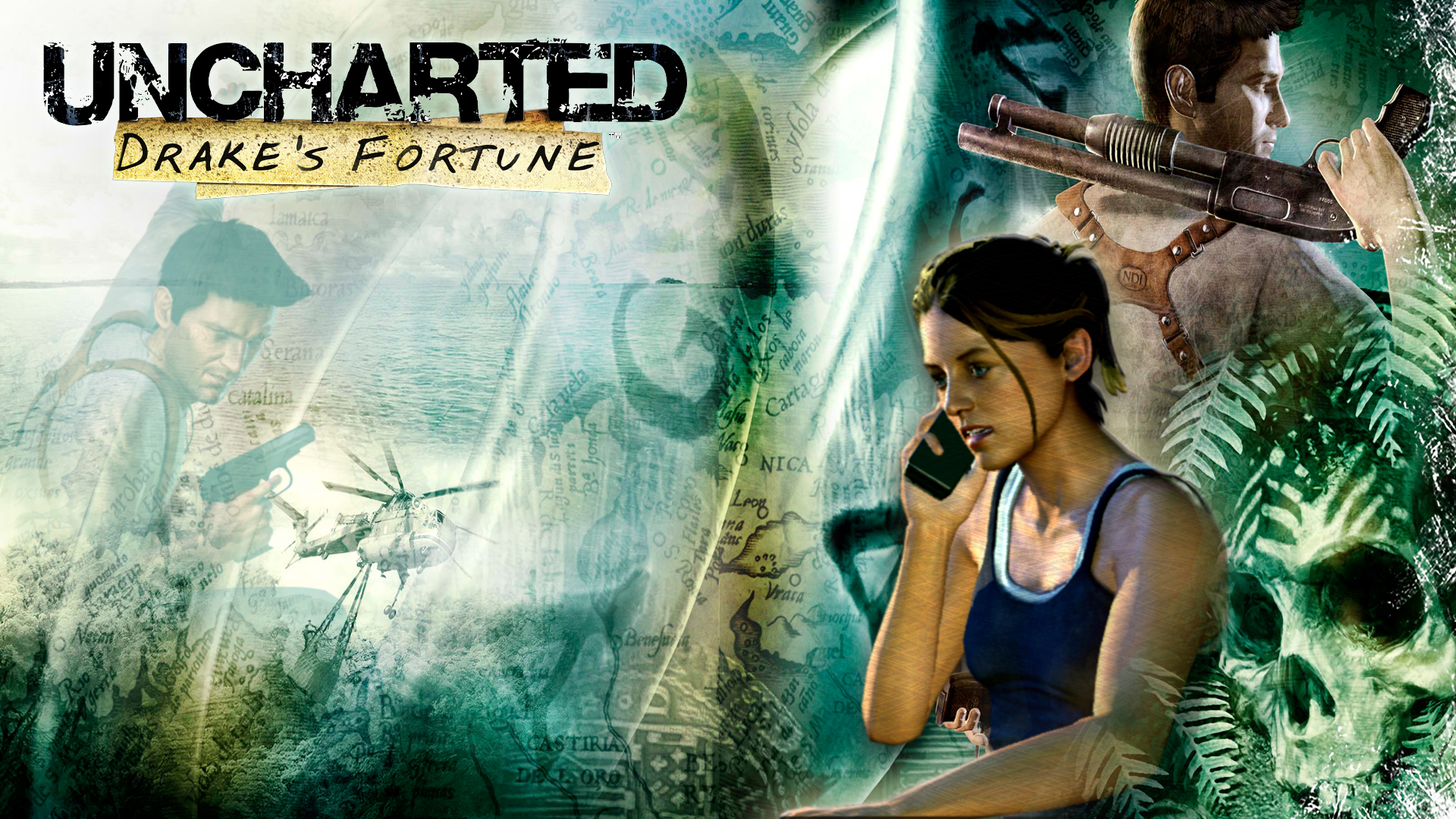 uncharted wallpaper A3