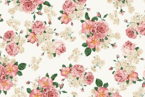 vintage flowers A