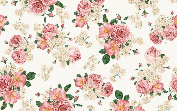 vintage flowers A