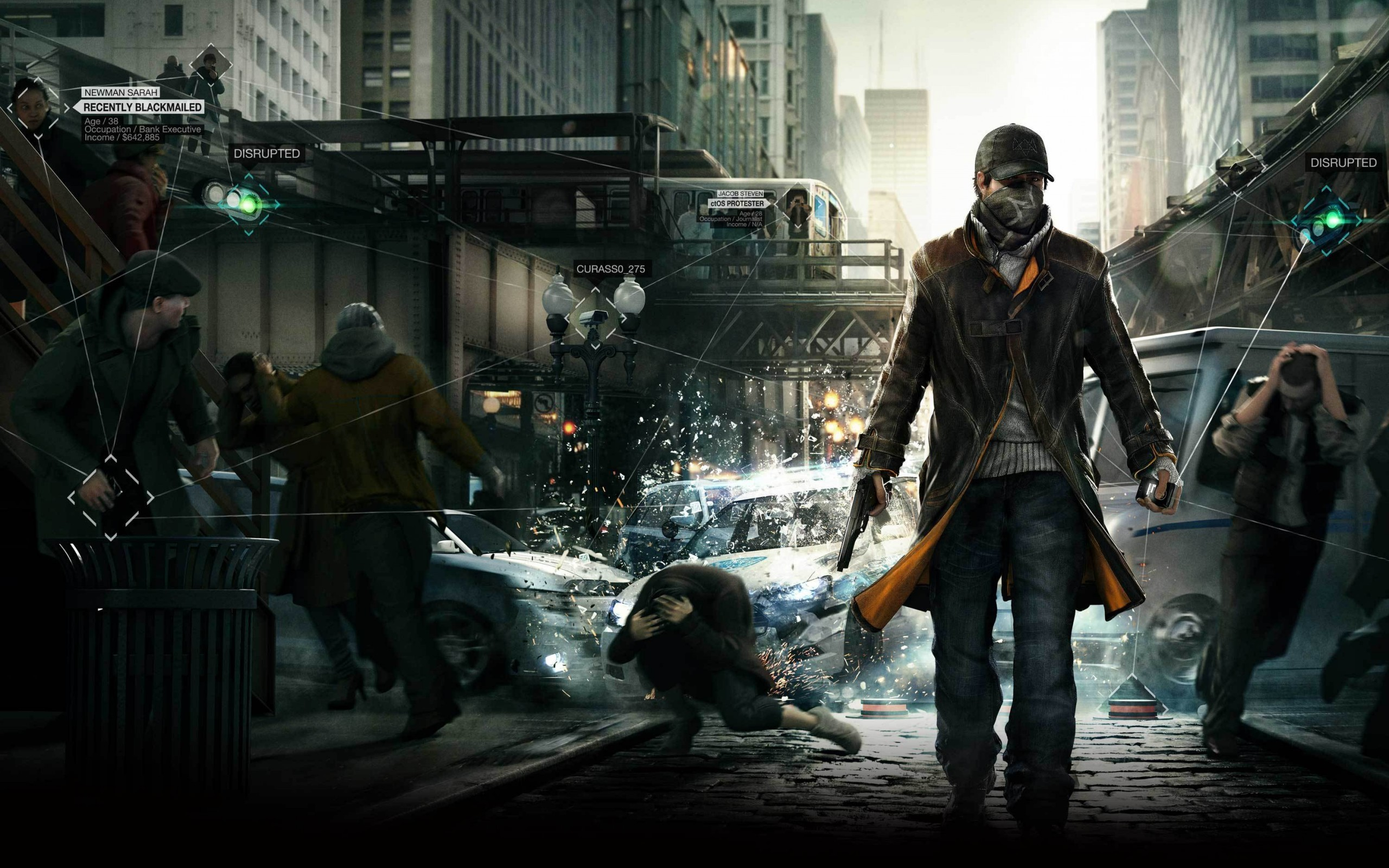 watch dogs wallpaper A3