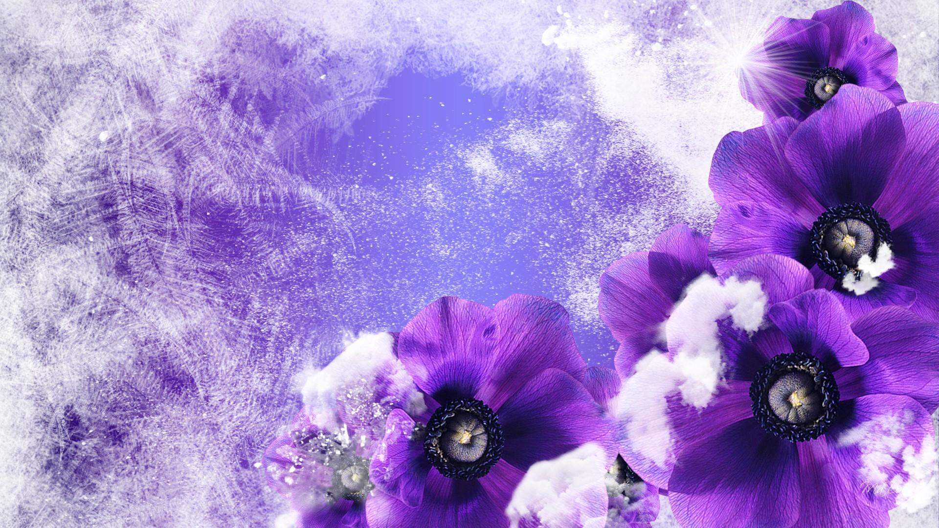 winter flowers A1