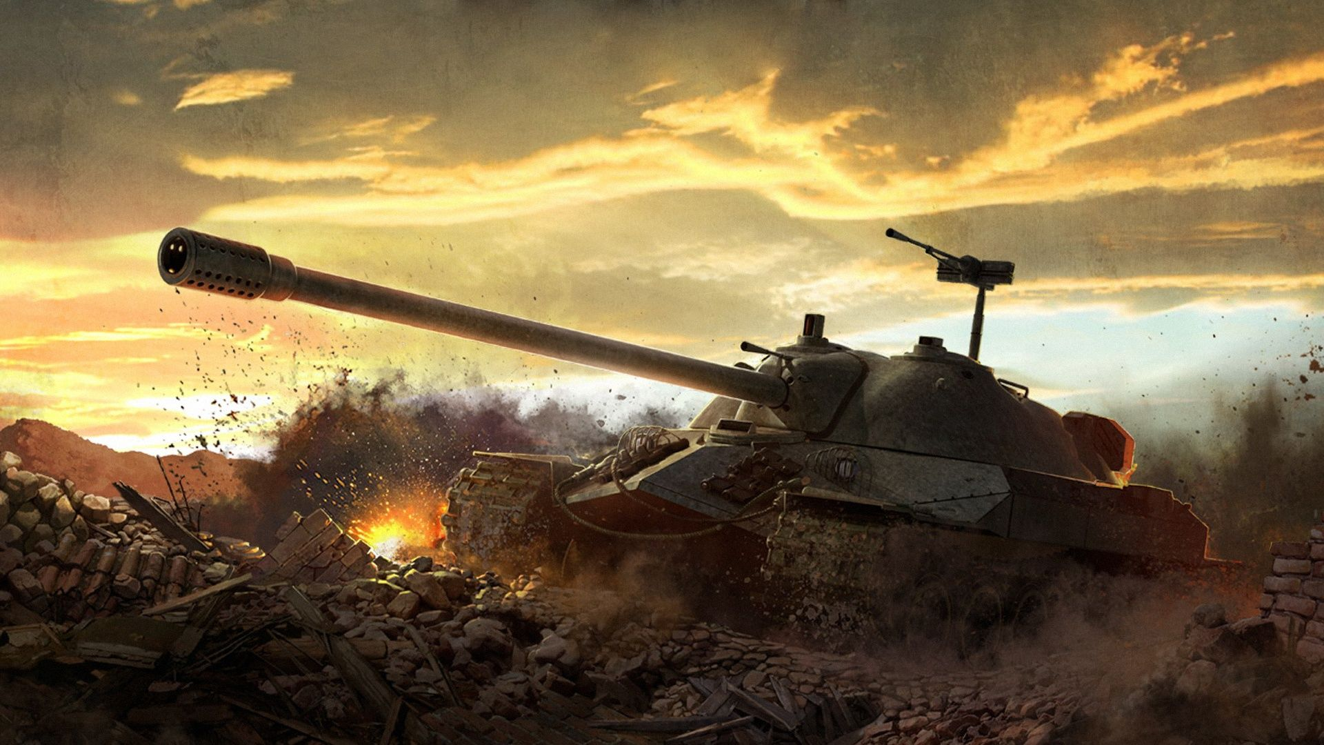 world of tanks wallpaper