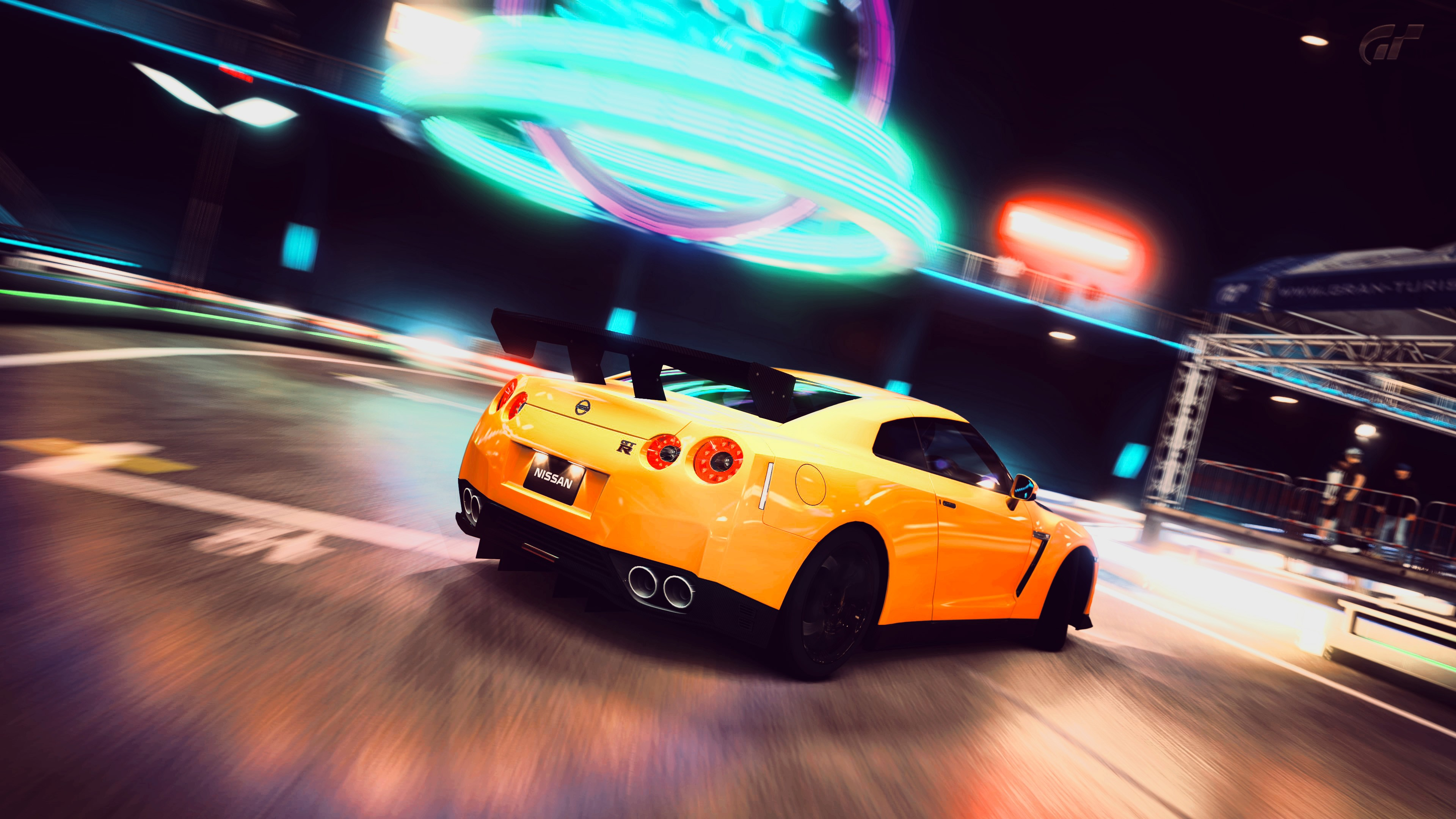 yellow gtr wallpaper
