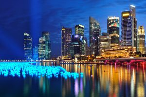 singapore nightlife image