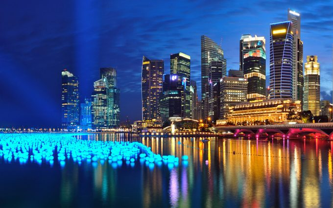 singapor nightlife image
