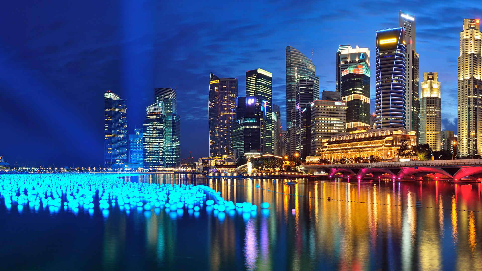 singapor nightlife image