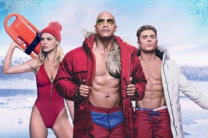 baywatch movie wallpaper 4k rock zac efron