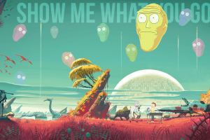 rick and morty desktop background
