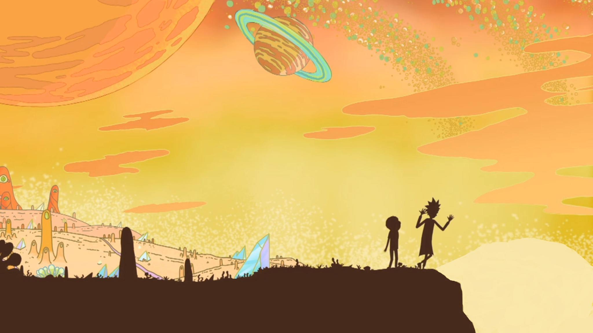 rick and morty wallpaper hd