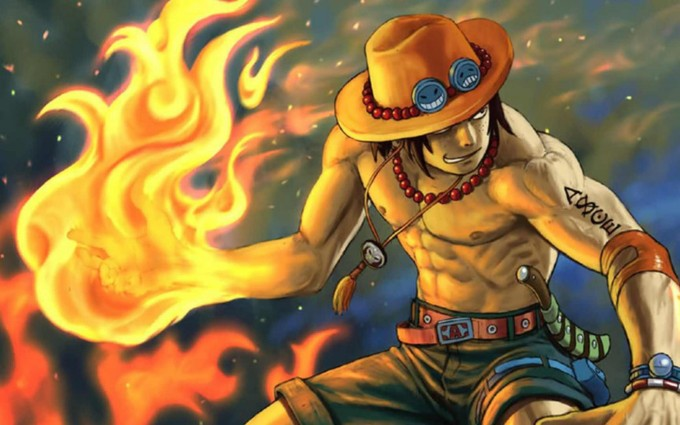 one piece Portgas D. Ace HD manga anime widescreen desktop, laptops, tablets & mobile wallpapers free download