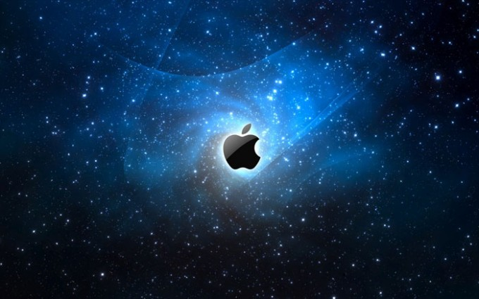 Apple Logo Wallpapers HD starts dotted