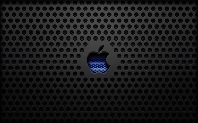 Apple Logo Wallpapers HD black blue