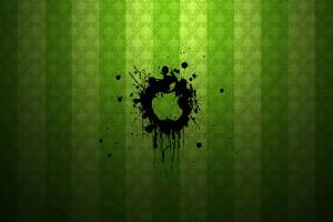 Apple Logo Wallpapers HD green punk