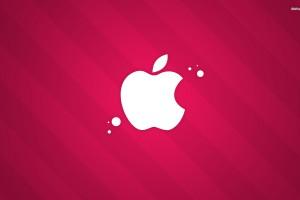 Apple Logo Wallpapers HD pink