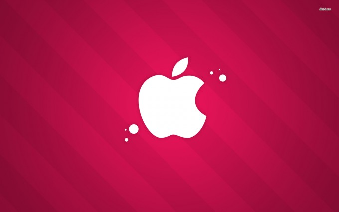 Apple Logo Wallpapers HD pink