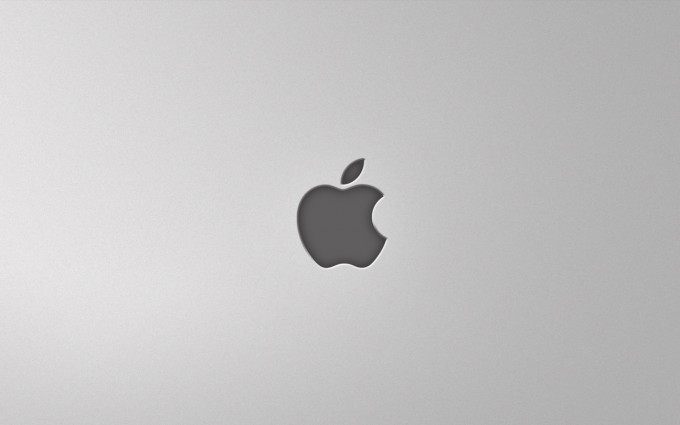 Apple Logo Wallpapers HD grey 2