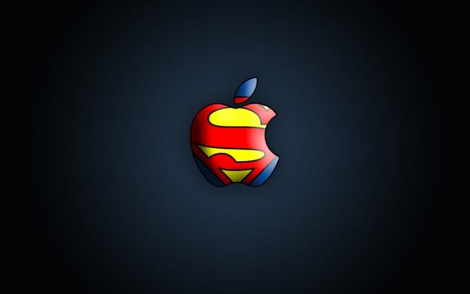 Apple Logo Wallpapers HD superman
