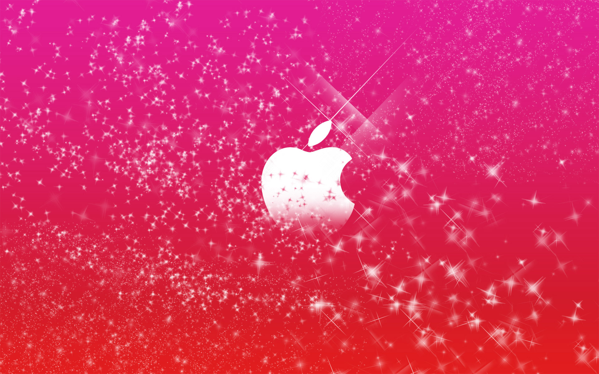 Apple Logo Wallpapers HD pink stars