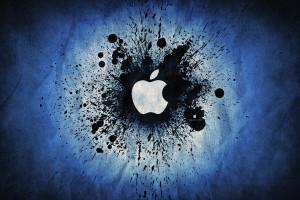 Apple Logo Wallpapers HD dark blue purple