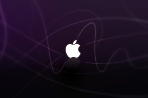 Apple Logo Wallpapers HD purple blaze