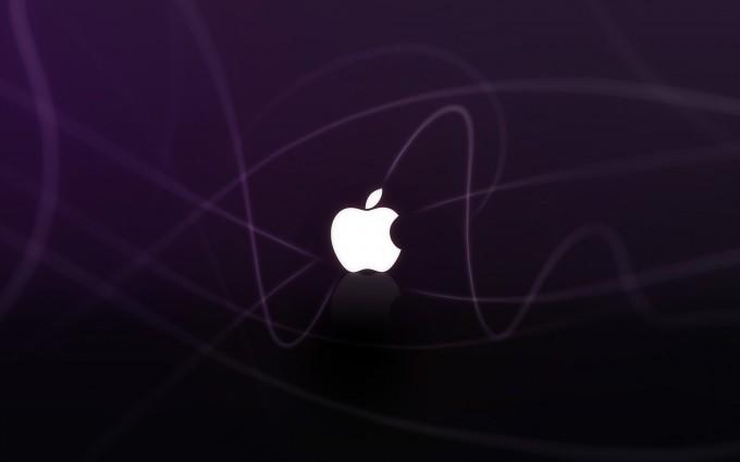 Apple Logo Wallpapers HD purple blaze
