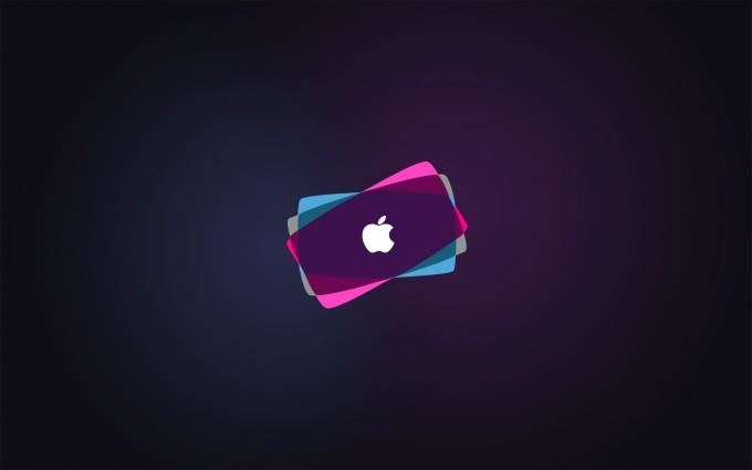 Apple Logo Wallpapers HD pink purple blue