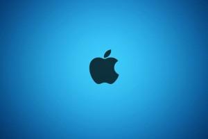 Apple Logo Wallpapers HD blue