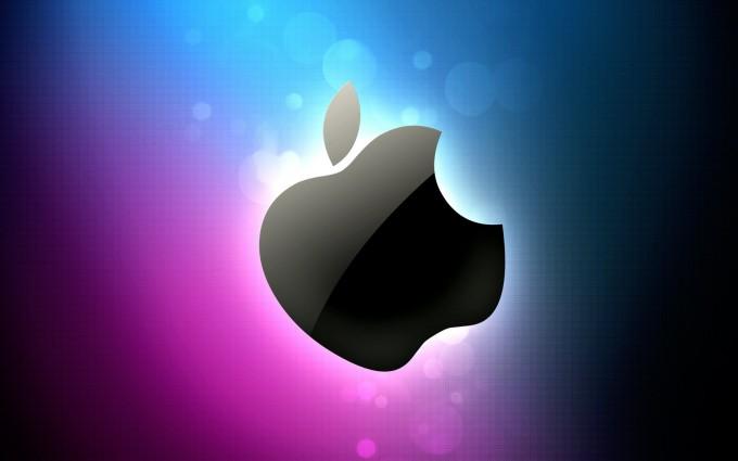 Apple Logo Wallpapers HD pink purple