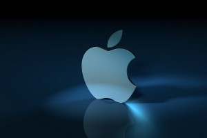 Apple Logo Wallpapers HD light blue