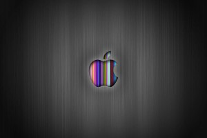Apple Logo Wallpapers HD rainbow stripped
