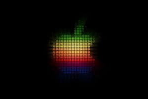 Apple Logo Wallpapers HD rainbow