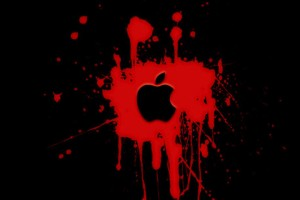 Apple Logo Wallpapers HD red