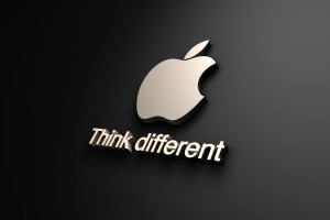 Apple Logo Wallpapers HD think different