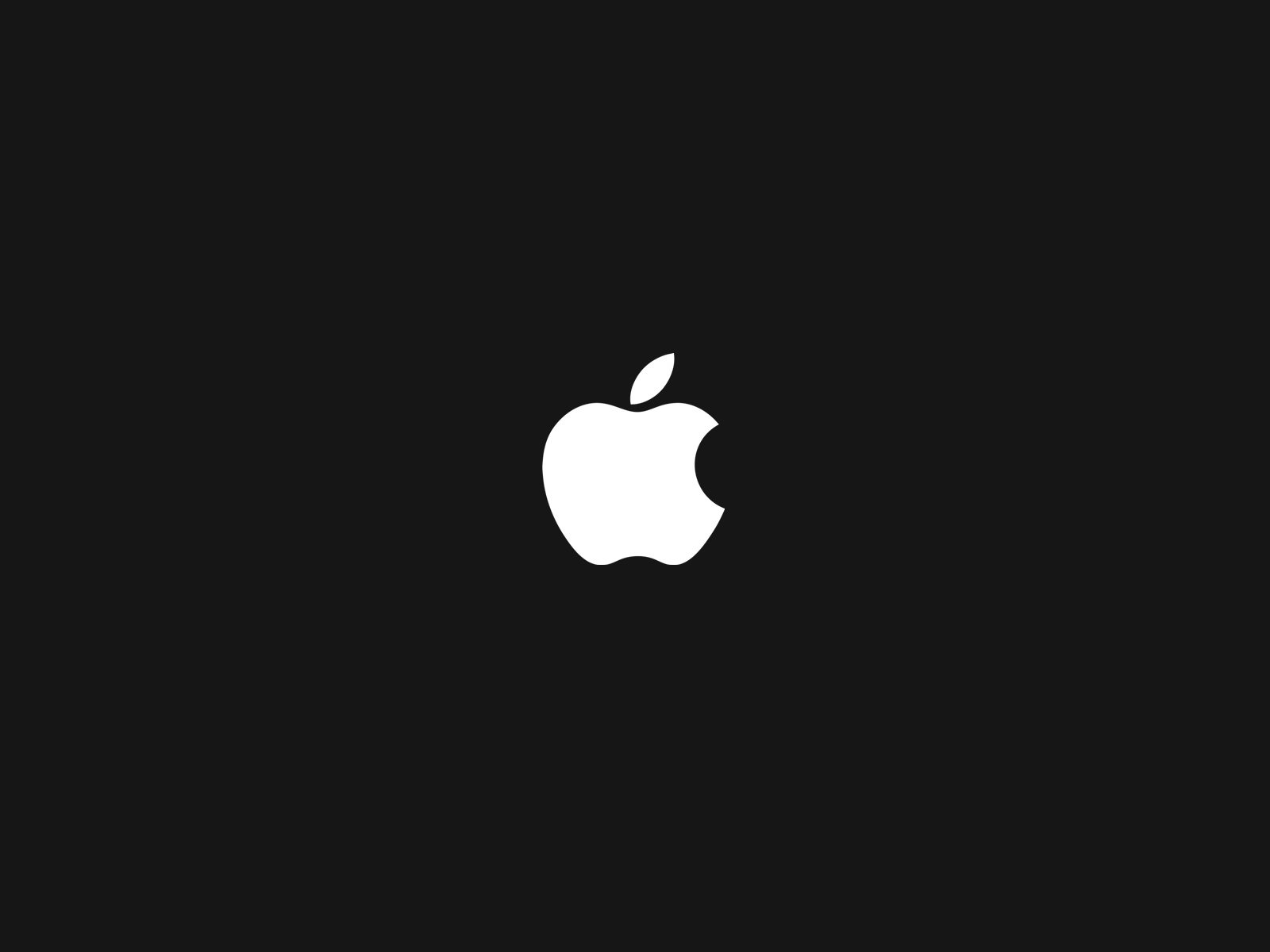 Apple Logo Wallpapers HD black background