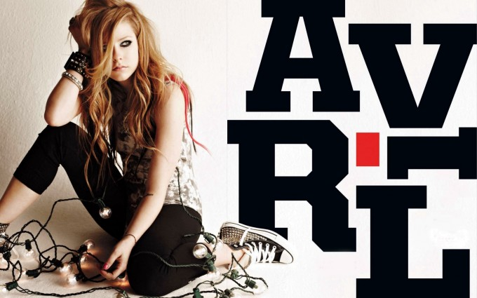 Avril Lavigne Wallpapers text