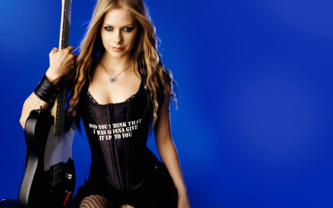 Avril Lavigne Wallpapers guitar