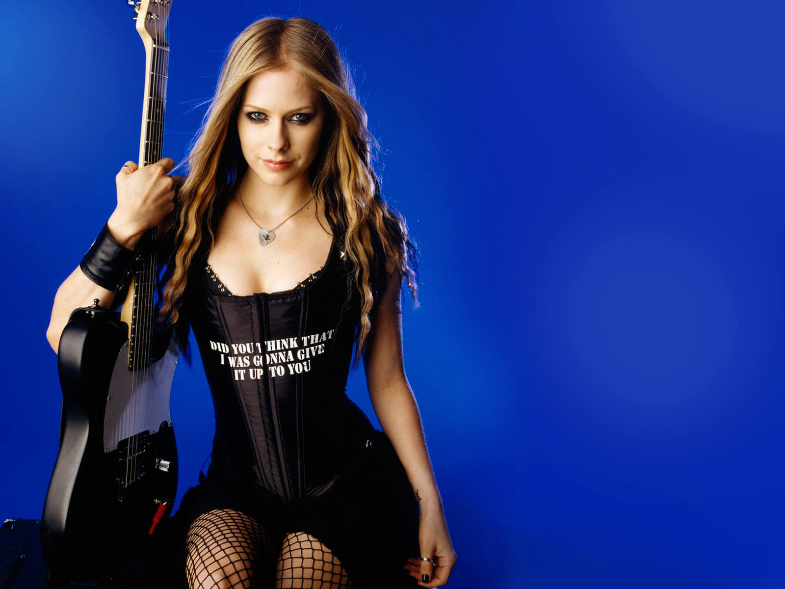 Avril Lavigne Wallpapers guitar
