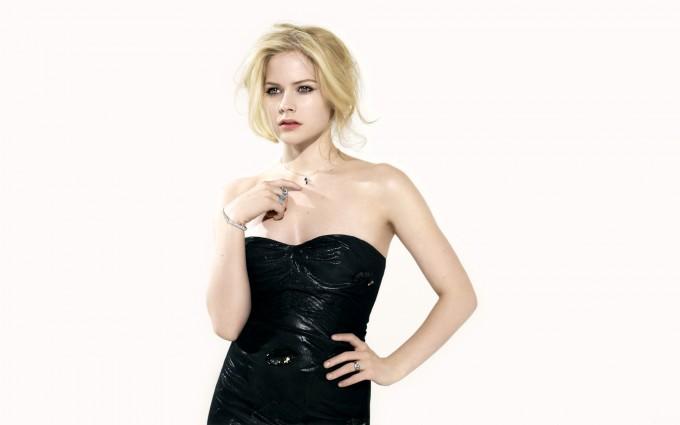 Avril Lavigne Wallpapers black cute