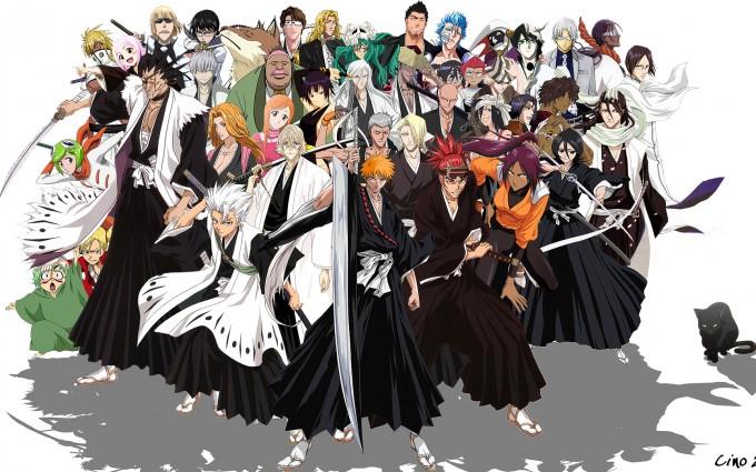 Bleach Wallpapers manga