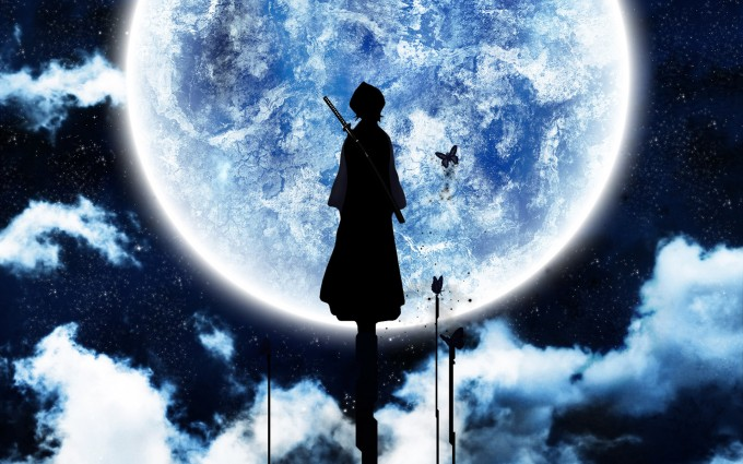 Bleach Wallpapers moon